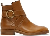 Thumbnail for your product : See by Chloe Tan Lyna Ankle Boots