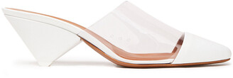 Neous Eriopsi Leather And Pvc Mules