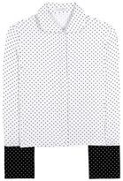 J.W.Anderson French Cuff Polka-dot Crêpe Shirt