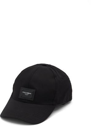 Dolce & Gabbana Logo-patch Baseball Cap - Black