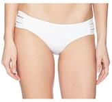 Vitamin A Swimwear Emelia Triple Strap Bottom (Eco Black) Women's Swimwear