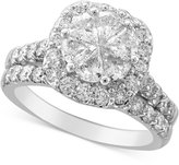 Macy's Diamond Bridal Set (2-1/2 ct. t.w.) in 14k White Gold