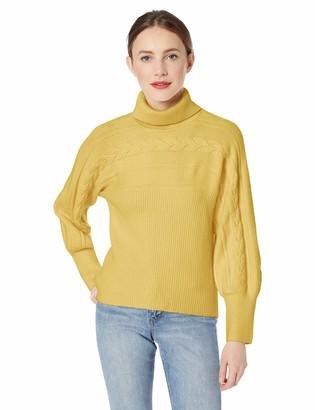 J.o.a. Women's Turtleneck Sweater
