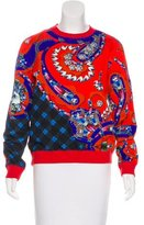 Mary Katrantzou Printed Long Sleeve Sweatshirt