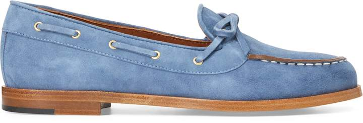 Ralph Lauren Suede Camp Moccasin
