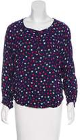 Splendid Polka Dot Long Sleeve Top
