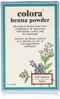 Colora Henna Powder Hair Color Sunset 2oz