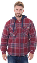 Dickies Big & Tall Plaid Flannel Jacket