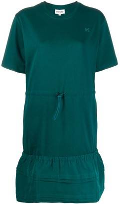 Kenzo drawstring T-shirt dress