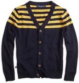 Brooks Brothers Stripe Cardigan