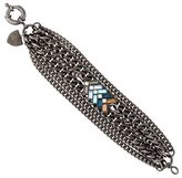 Giles & Brother Multistrand Chevron Crystal Bracelet