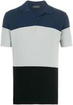 Roberto Collina terry color-block polo shirt