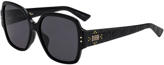 Christian Dior Lady Studs Square Sunglasses