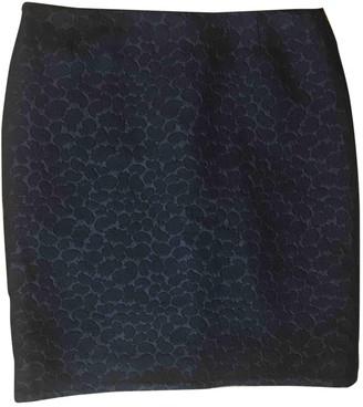 Mulberry Black Wool Skirts