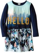 Paul Smith Printed Hello Tee Shirtdress (Toddler/Little Kids)