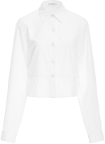 Tome Layered Cropped Shirt