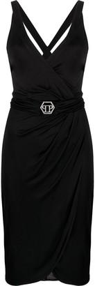 Philipp Plein Belted Short Dress