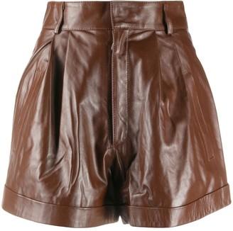 Manokhi High-Waisted Pleated Shorts