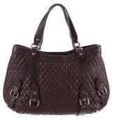 Moschino Cheap & Chic Moschino Cheap and Chic Quilted Leather Satchel