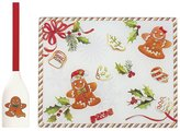 Lenox Home for the Holidays Glass Prep Board with Spatula