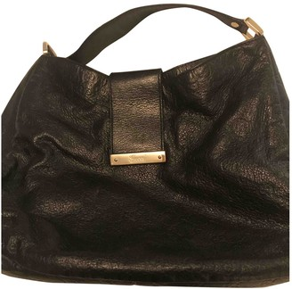 Gucci GG Running Black Leather Handbags