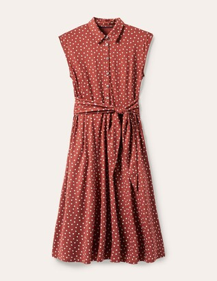 Althea Jersey Shirt Dress