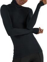 ATM Anthony Thomas Melillo Modal Rib-Knit Long-Sleeve Turtleneck Top