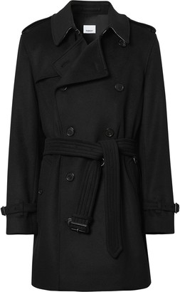 Burberry Vintage Check undercollar trench coat