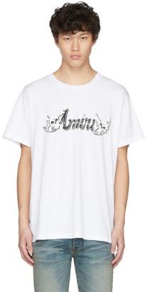 Amiri White Motley Crue T-Shirt