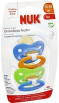 NUK Juicy Orthodontic Pacifier - 18-36 Months - Multicolor - 2 Count by