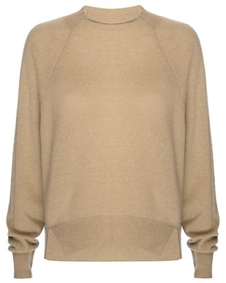 Frame Lounge Cashmere-Blend Crewneck Sweater