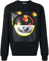 McQ by Alexander McQueen floral print sweatshirt