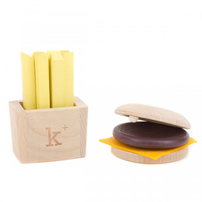 Kiko+ Hamburger And Chips Music Set