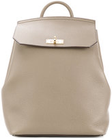 Bally plain backpack - women - Leather - One Size
