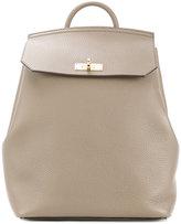 Bally plain backpack