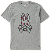 Psycho Bunny Day Of Dead Short-Sleeve Crew Graphic Tee