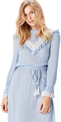 Find. Amazon Brand Women's Lace Detail Retro Dress Long Sleeve Dress