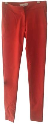 Stella McCartney Stella Mc Cartney Red Cotton Trousers for Women