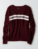 American Eagle Outfitters AE Varsity Stripe Sweater