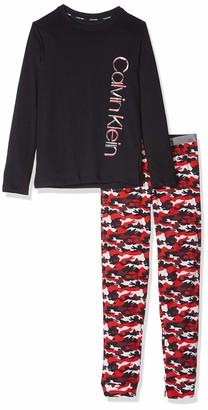 Calvin Klein Boy's Knit Pj Set (ls+cuffed) Pyjama