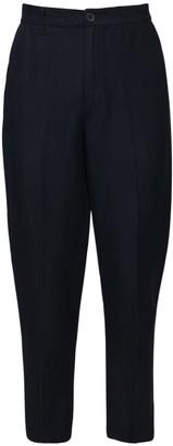 Armani Exchange Linen & Viscose Pants