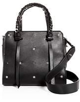 Elena Ghisellini Usonia Starry Night Small Leather Satchel