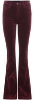 AG Jeans Janis Flared Velvet Trousers