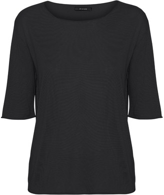 Oh Simple - Black Silk Cashmere Knit - xs