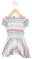 Missoni Girls' Patterned Wool-Blend Dress