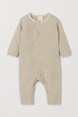 H&M Fine-knit all-in-one suit