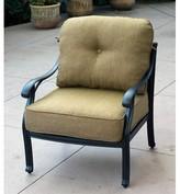 Lincolnville Deep Seating Patio Chair with Cushion Fleur De Lis Living Fabric: Sesame