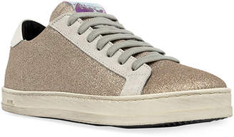 P448 John Glitter Low-Top Sneakers