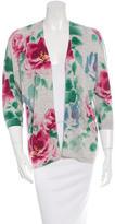 Autumn Cashmere Floral Print Knit Cardigan w/ Tags