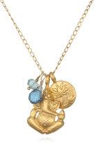 Satya Jewelry Ganesha & Lotus Necklace